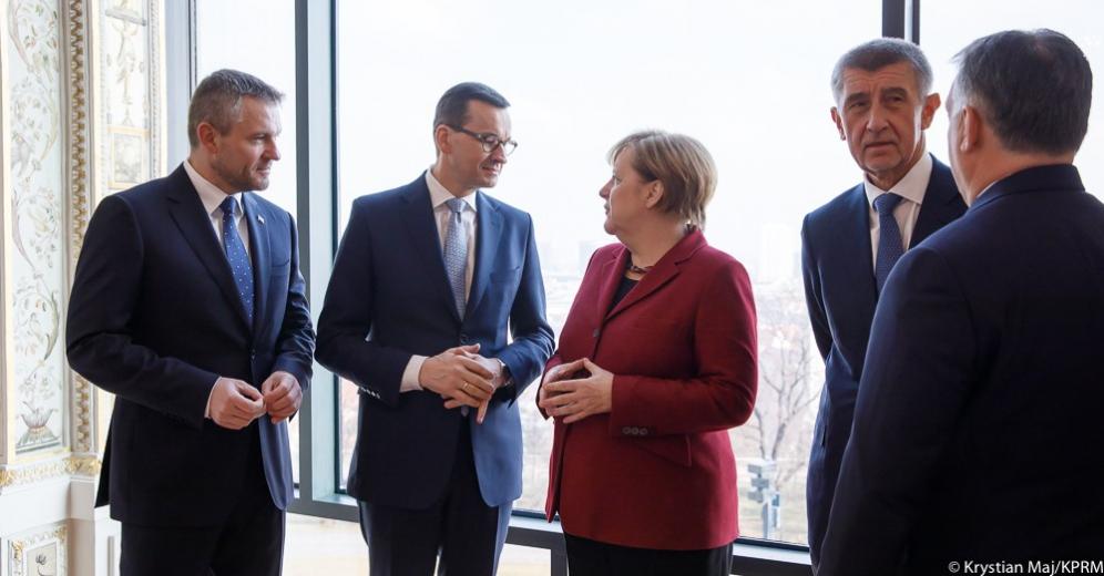 Szczyt V4 w Bratysławie. Merkel o wspólnych celach