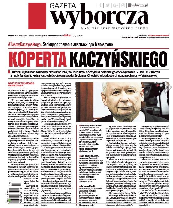 """""""GW"""": Koperta Kaczyńskiego czyli 50 tys. od Kaczyńskiego dla księdza. Tak zeznał Birgfellner"""