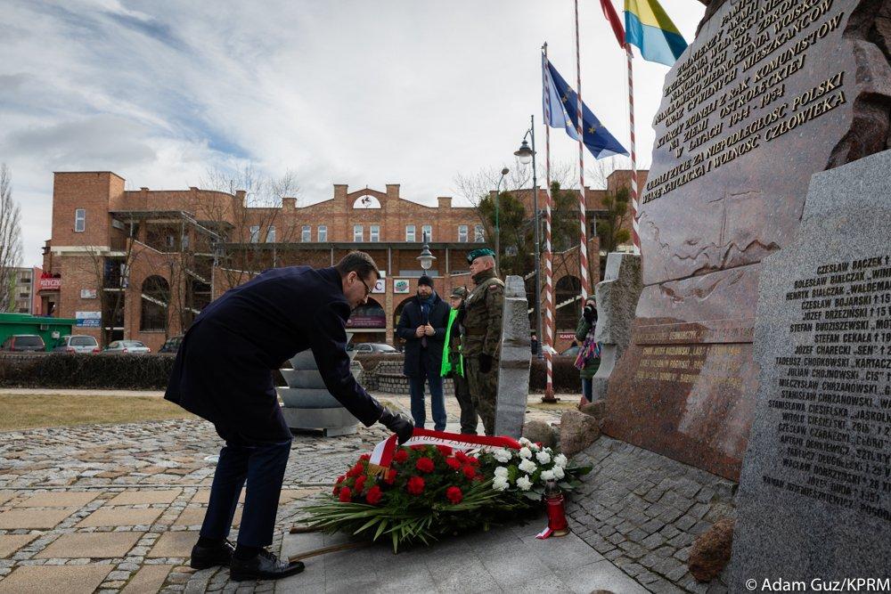Trwają ogólnopolskie obchody Narodowego Dnia Pamięci Żołnierzy Wyklętych