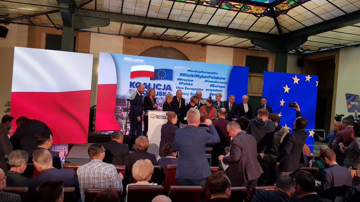 Konwencje PO i PSL. Wpisanie członkostwa Polski w Unii Europejskiej do Konstytucji
