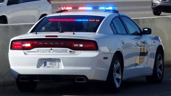 Policja w Indianie zatrzymała kierowcę z Chicago jadącego z prędkością 150 mil na godzinę