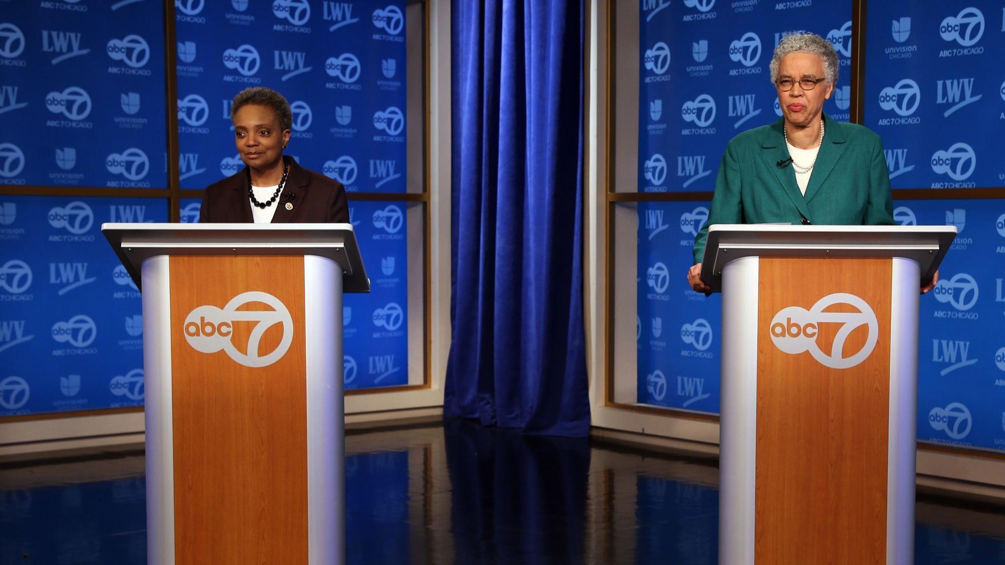 Telewizyjna debata kandydatek na burmistrza Chicago