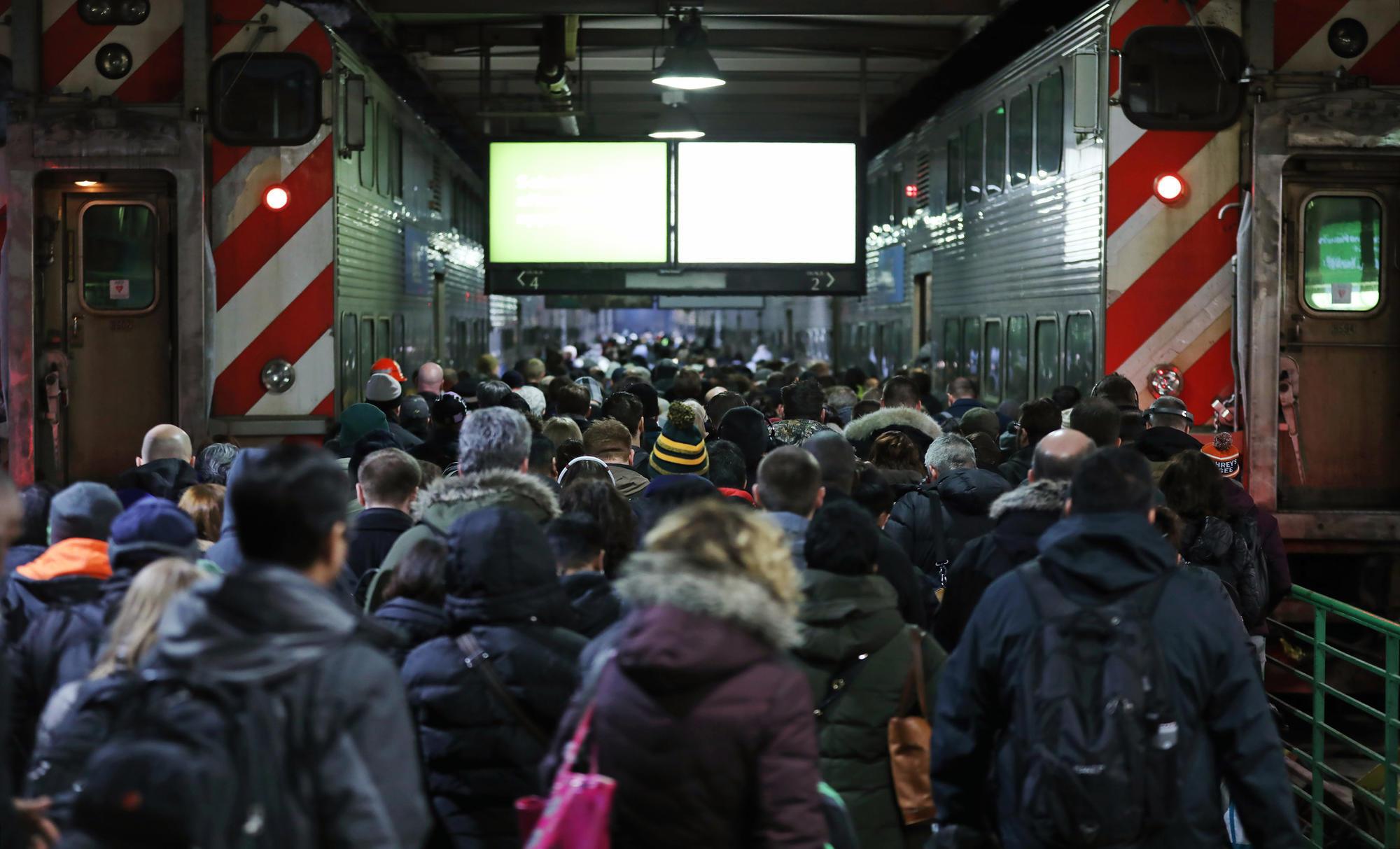 Człowiek spowodował awarię sygnalizacji na Union Station