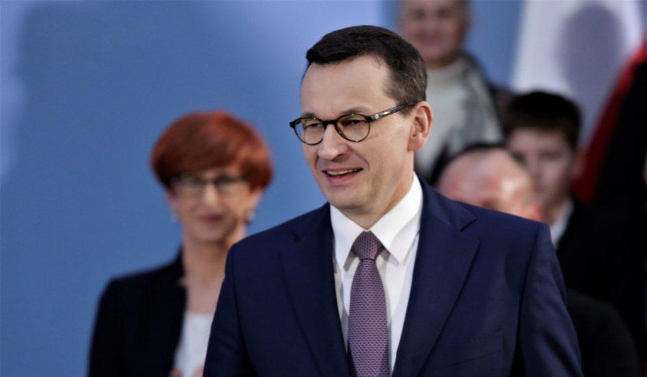 Premier Morawiecki podsumowuje trzy lata programu 500 plus