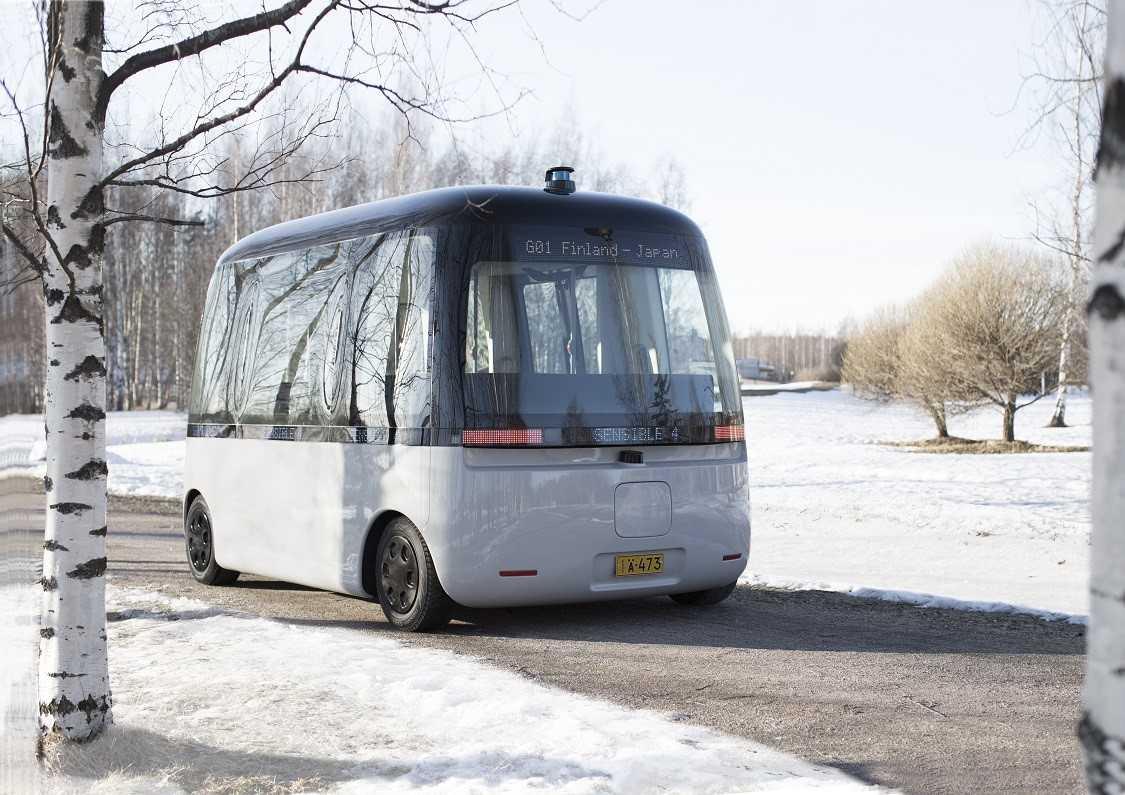 Pierwszy autonomiczny autobus na świecie odporny na pogodę
