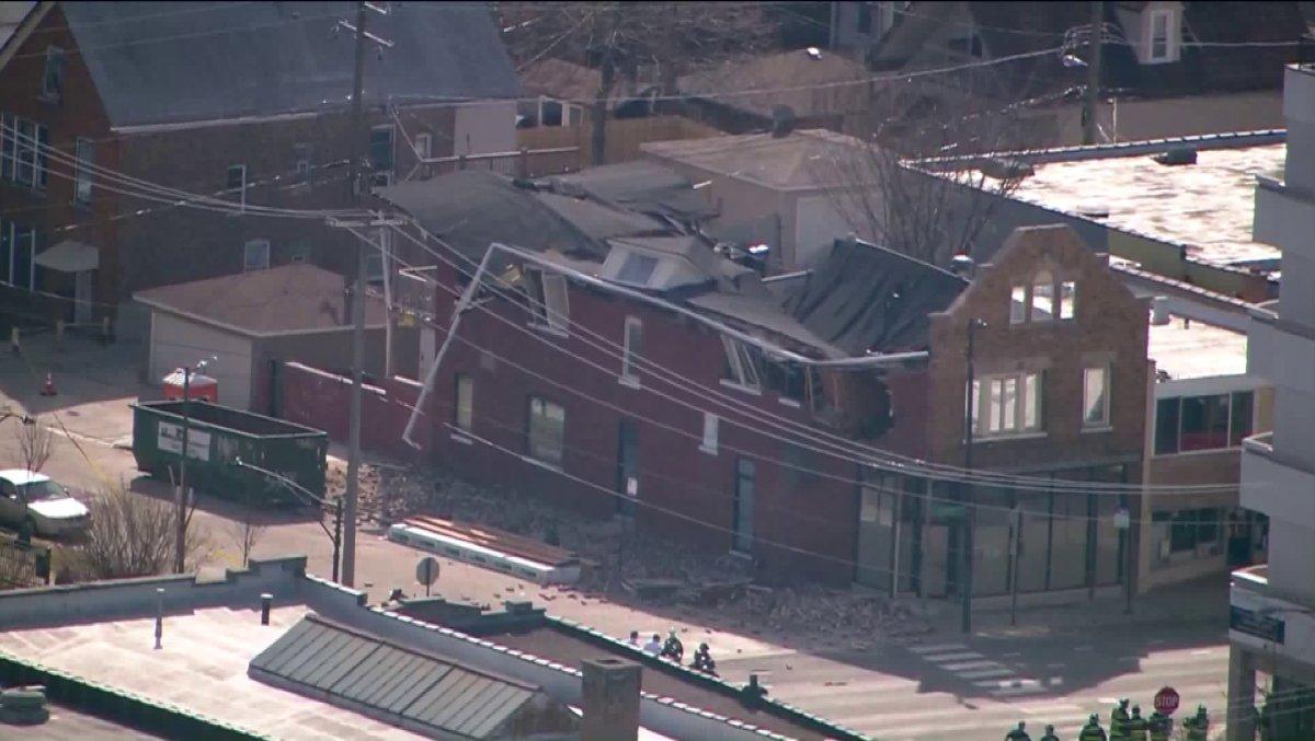 W Jefferson Park zawalił się budynek