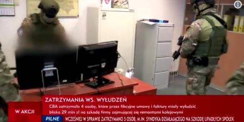 """Wydawca """"Wprost"""" i """"Do Rzeczy"""" zatrzymany przez CBA. Jest jedną z osób podejrzanych o wyłudzenie 29 mln zł"""