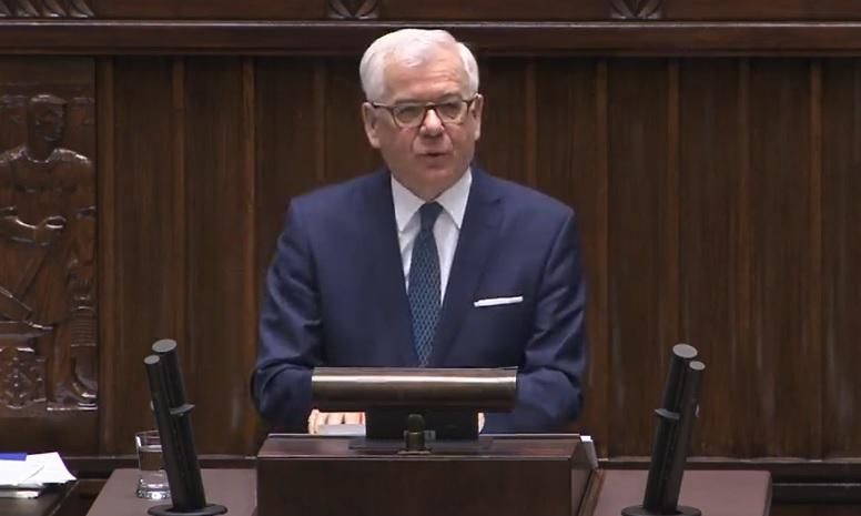 Jacek Czaputowicz o priorytetach polskiej dyplomacji na bieżący rok