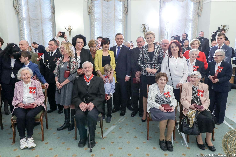 Polacy ratujący Żydów odznaczeni przez prezydenta