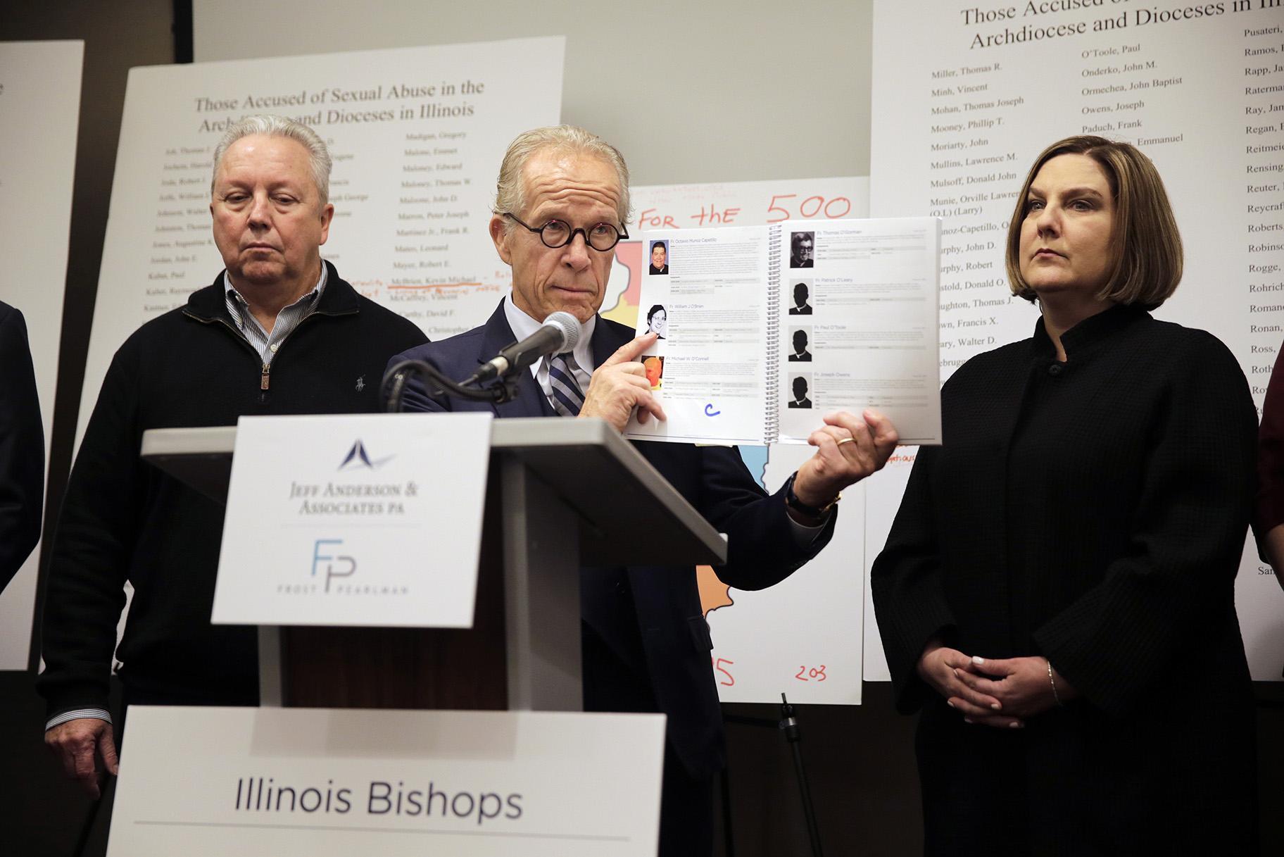 Opublikowano nazwiska prawie 400 księży z Illinois oskarżonych o molestowanie seksualne