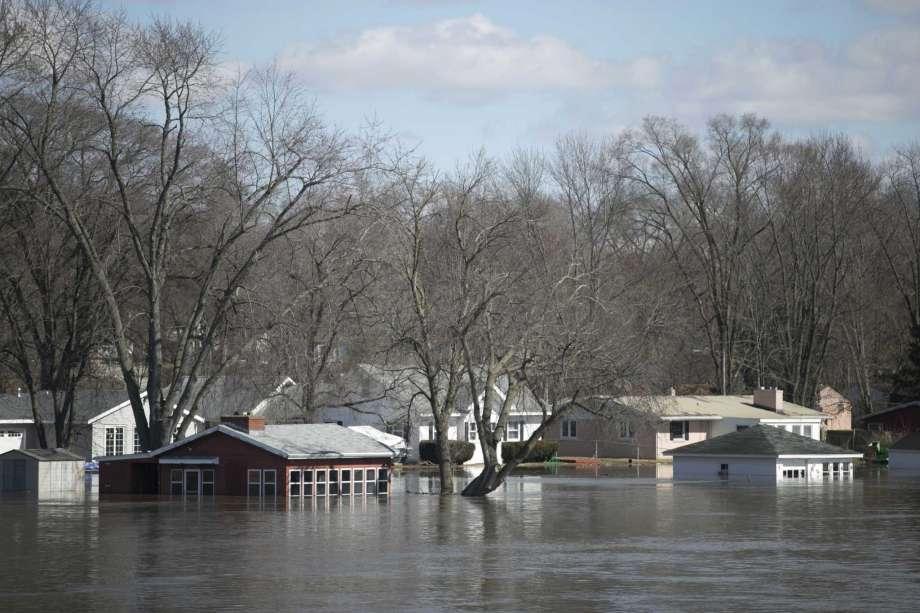 Powodzie i podtopienia w północnym Illinois