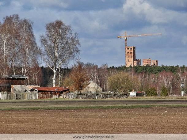 Puszcza Notecka: Zamek w Stobnicy już góruje nad lasem