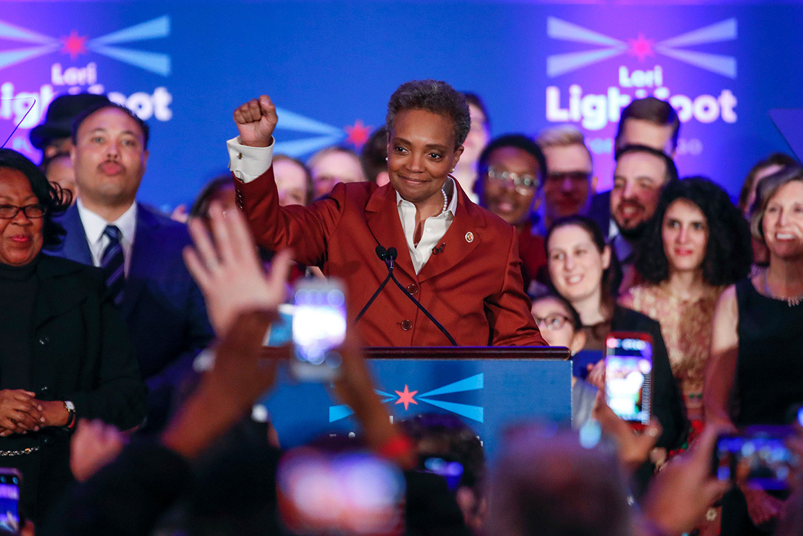 Lori Lightfoot: Dziękuje Chicago!