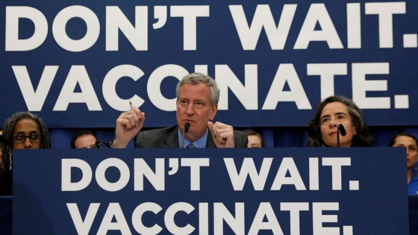 Na Brooklynie ogłoszono stan zagrożenia dla zdrowia publicznego