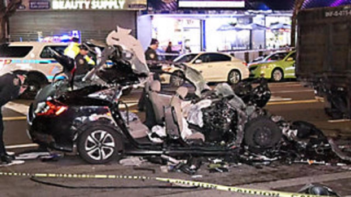 Tragiczny wypadek na Manhattanie