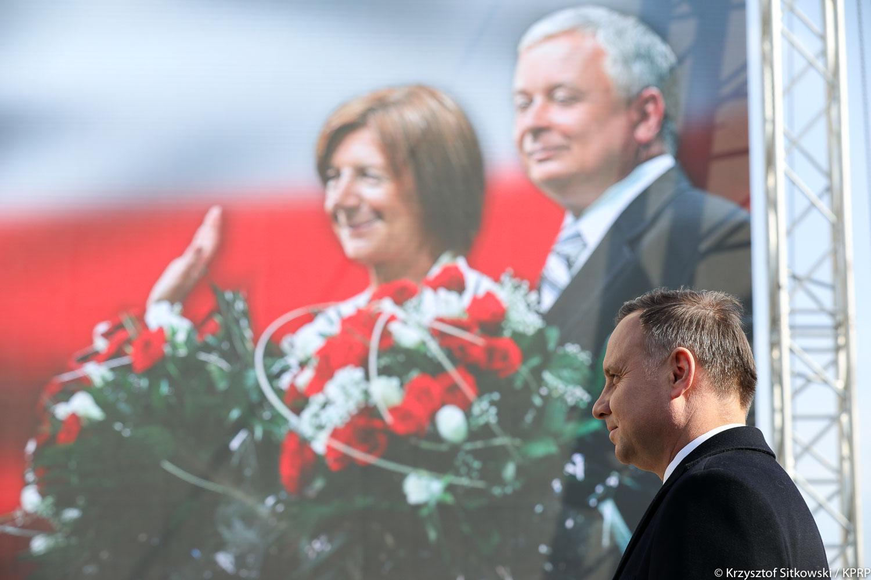 Uroczystości 9. rocznicy katastrofy smoleńskiej
