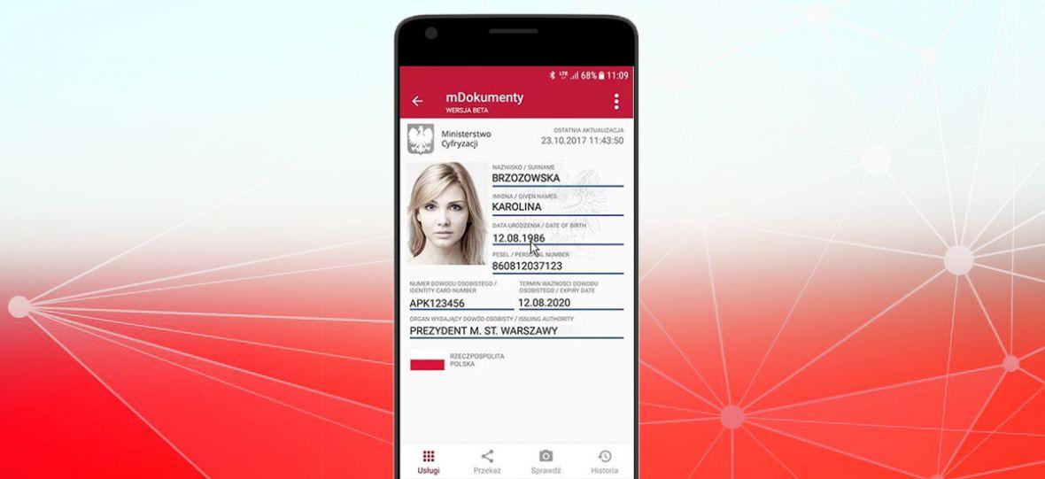 M-Obywatel. Tą mobilną aplikacją można się wylegitymować w wielu instytucjach