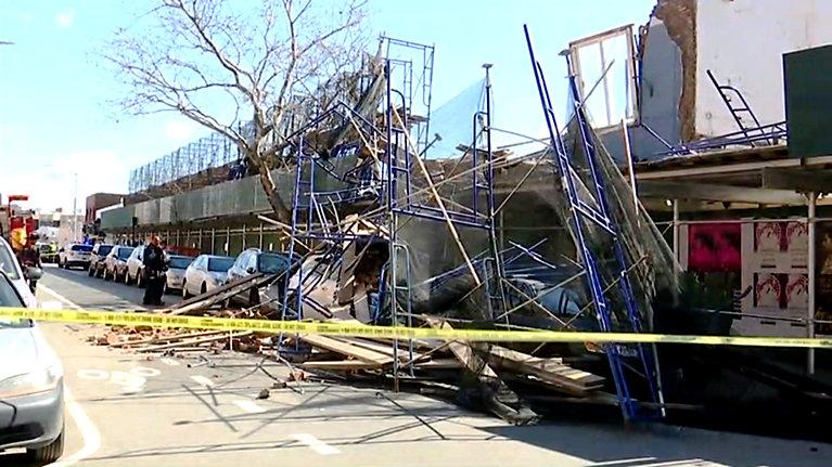 Zawalił się budynek na Williamsburgu