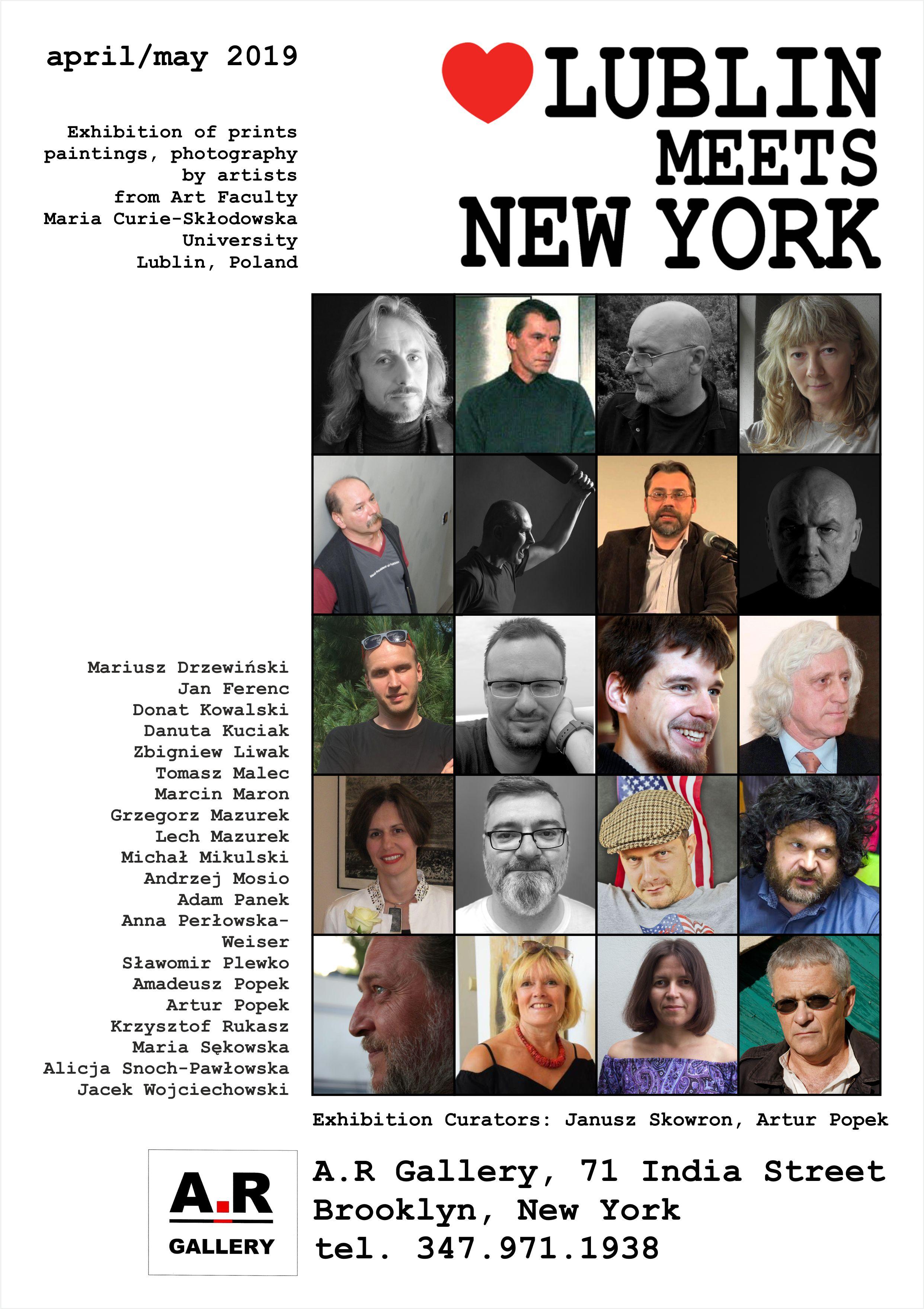 """""""Lublin meets New York"""" – Lublin spotyka Nowy Jork"""