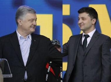 Debata kandydatów na prezydenta Ukrainy
