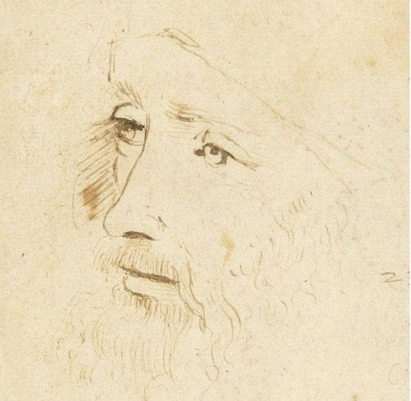 Obraz zidentyfikowany jako portret Leonarda da Vinci na wystawie w Londynie