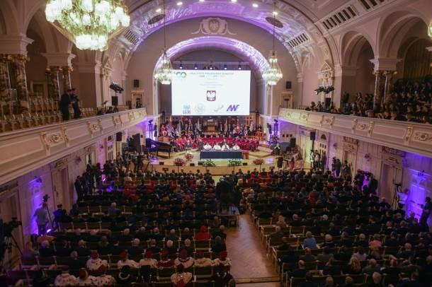 100-lecie Uniwersytetu Poznańskiego: Pianista nie zdążył na koncert. Zatrzymała go ochrona. Dlaczego?