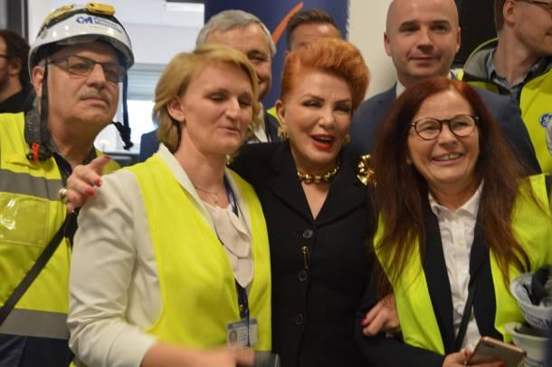 Opolskie: Georgette Mosbacher na otwarciu Elektrowni Opole
