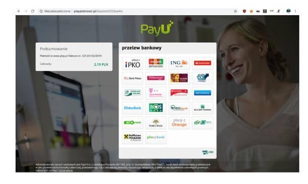 Ostrzegamy przed fałszywymi stronami udającymi pośredników szybkich płatności