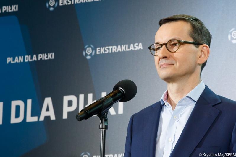 Premier Mateusz Morawiecki ogłosił pięć punktów dla polskiej piłki