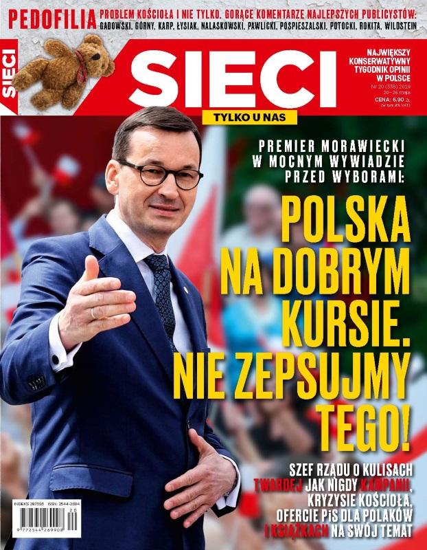 """Duży wywiad premiera w """"zaprzyjaźnionym"""" tygodniku: Polska na dobrym kursie…"""