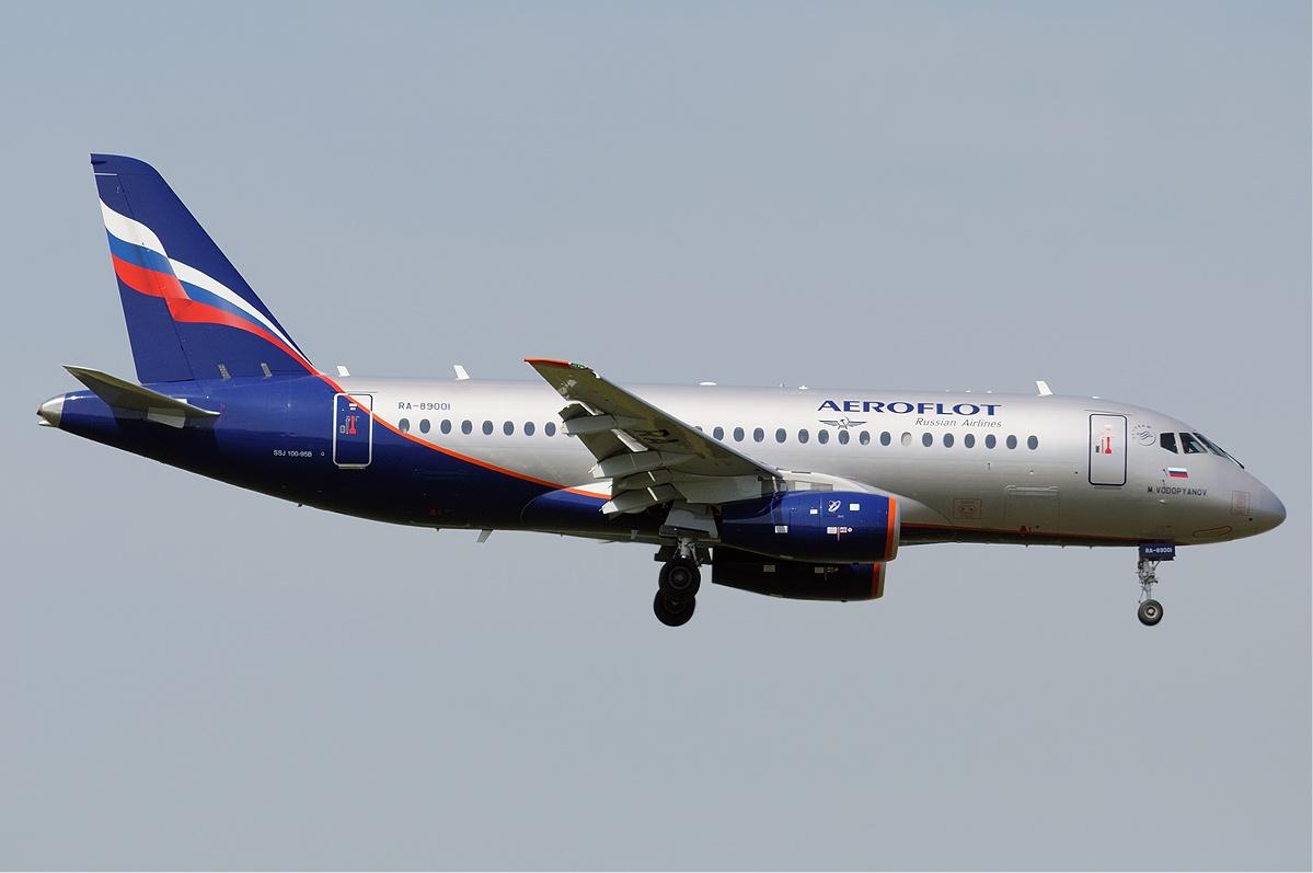 Rosyjskie samoloty SSJ-100 wycofywane z rejsów