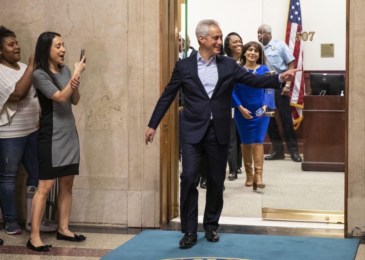 Rahm Emanuel zakończył urzędowanie jako burmistrz Chicago