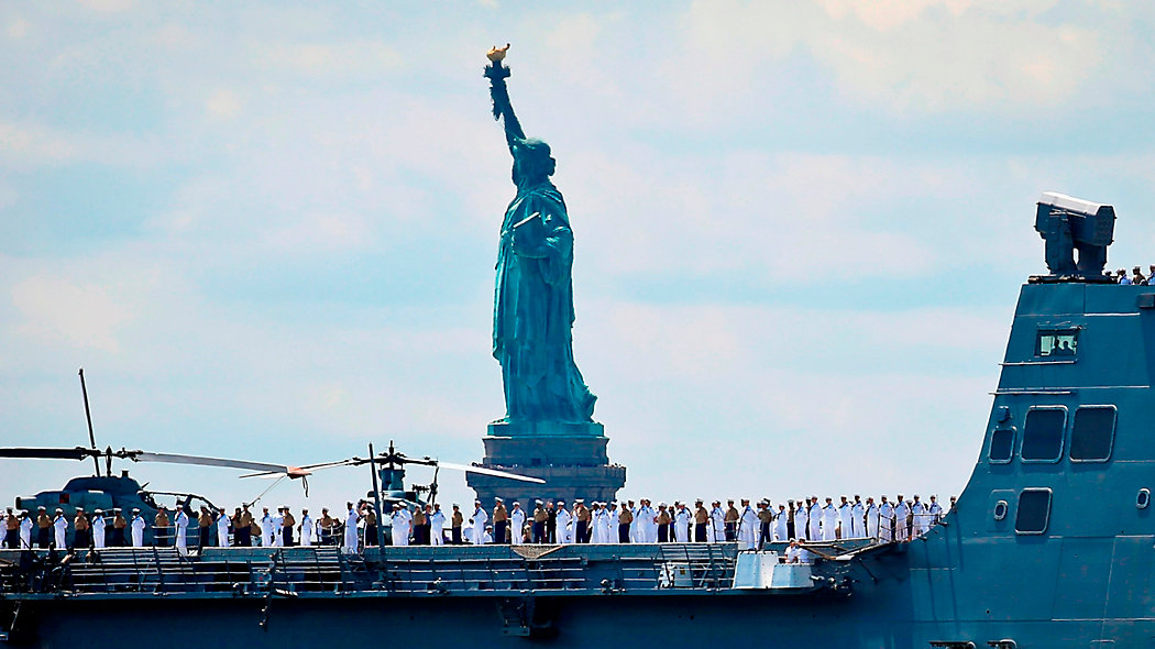 Ahoj! Fleet Week rozpoczął się w Nowym Jorku