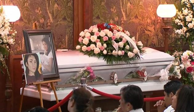 Pogrzeb  Marleny Ochoa – Lopez