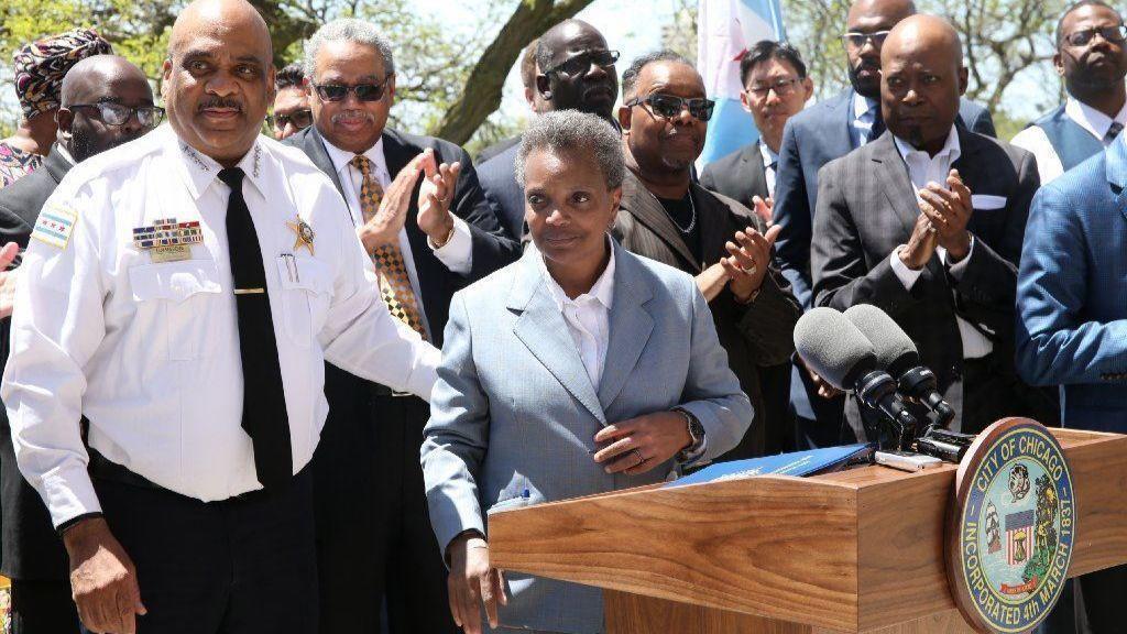 """Burmistrz Lori Lightfoot ogłosiła nową inicjatywę: """"Our city. Our Safety"""""""