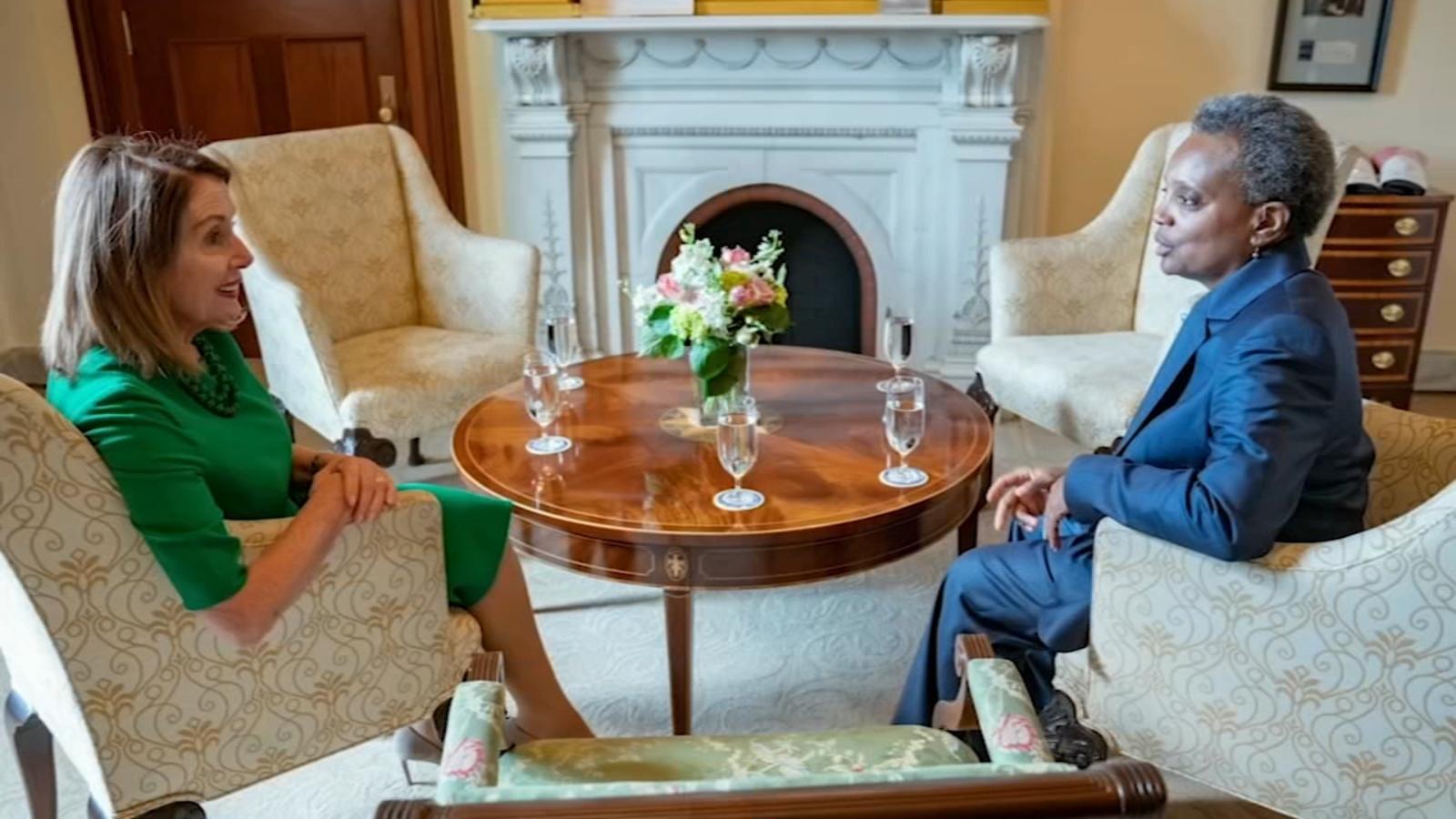 Lori Lightfoot spotkała się w Waszyngtonie z ważnymi politykami