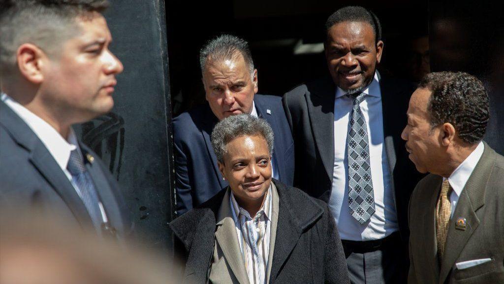 Chicagowskcy policjanci nie będą ochraniać nowej burmistrz Lori Lightfoot