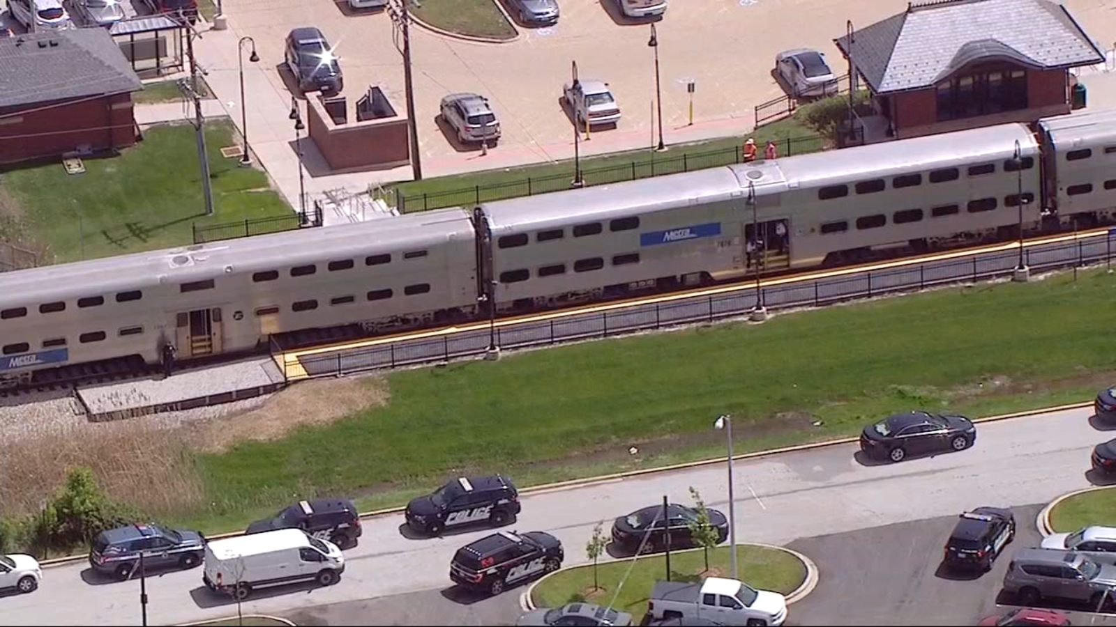Nie żyje mężczyzna potrącony przez pociąg Metry w Joliet