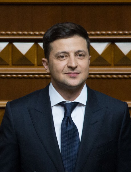 Ukraina: Rośnie popularność Wołodymyra Zełenskiego i jego partii