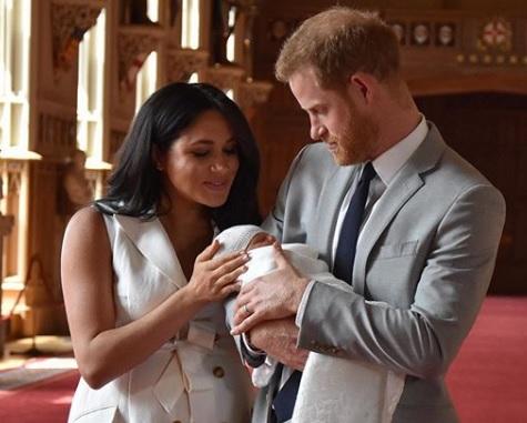 Archie Harrison Mountbatten-Windsor- tak będzie nazywał się syn księcia Harry'ego
