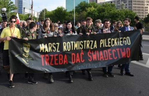 Ulicami Warszawy przeszedł Marsz Pileckiego