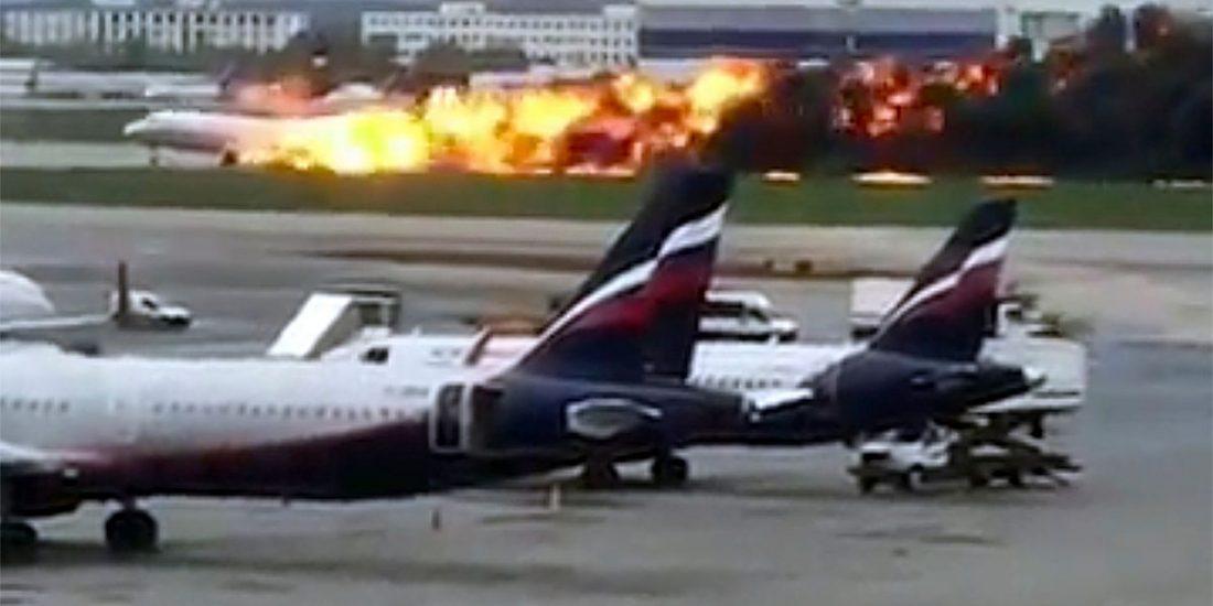 Katastrofa lotnicza w Moskwie. 41 ofiar, co najmniej 12 osób rannych