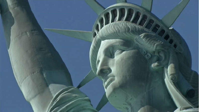 Muzeum tego jak powstała Statue of Liberty