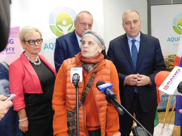 Ochojska, Duda, Schetyna na konferencji w Wałbrzychu