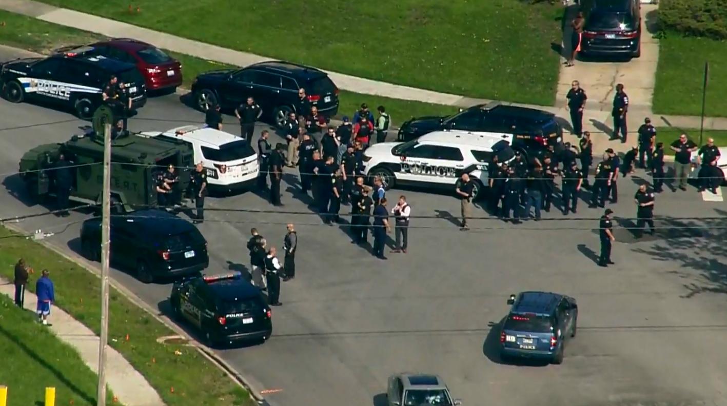 Policja aresztowała kilka osób za wywołanie bójki po strzelaninie w Chicago Heights