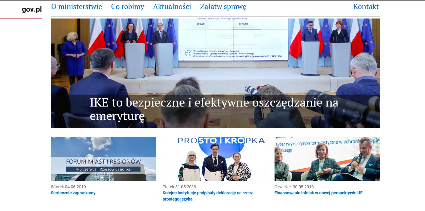 Prosty język na stronach internetowych. Ministerstwo zachęca kolejne firmy i instytucje, by przyłączały się do grupy przyjaciół prostego języka