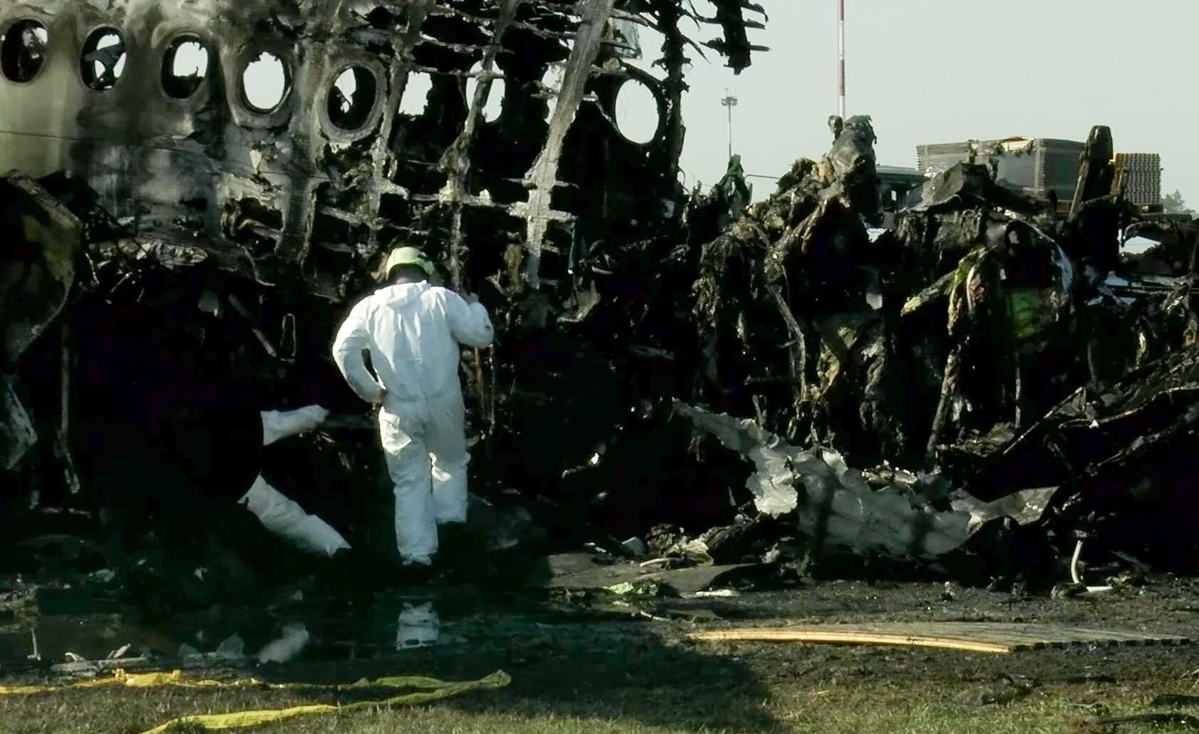 Kommiersant: Piorun nie doprowadził do katastrofy SSJ-100