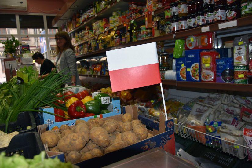 Ziemniaki z flagą już w sklepach. Nowe rozporządzenie weszło w życie