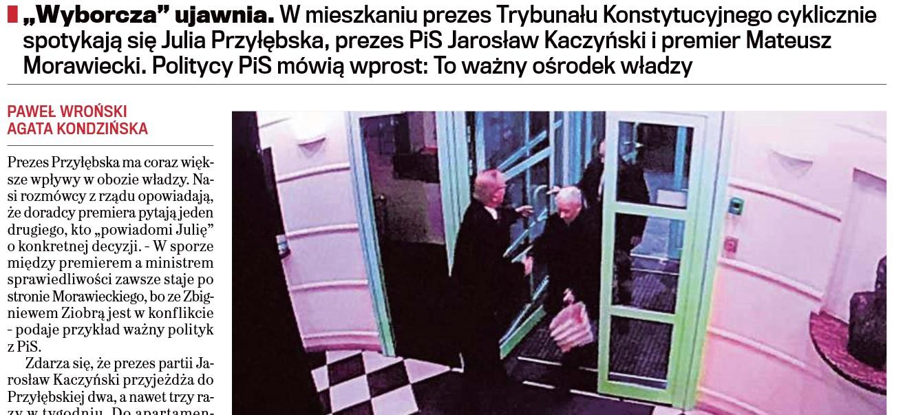 """TVP.INFO: Źródłem zdjęć prezesa PiS w """"Wyborczej"""" firma prowadząca interesy w Rosji"""