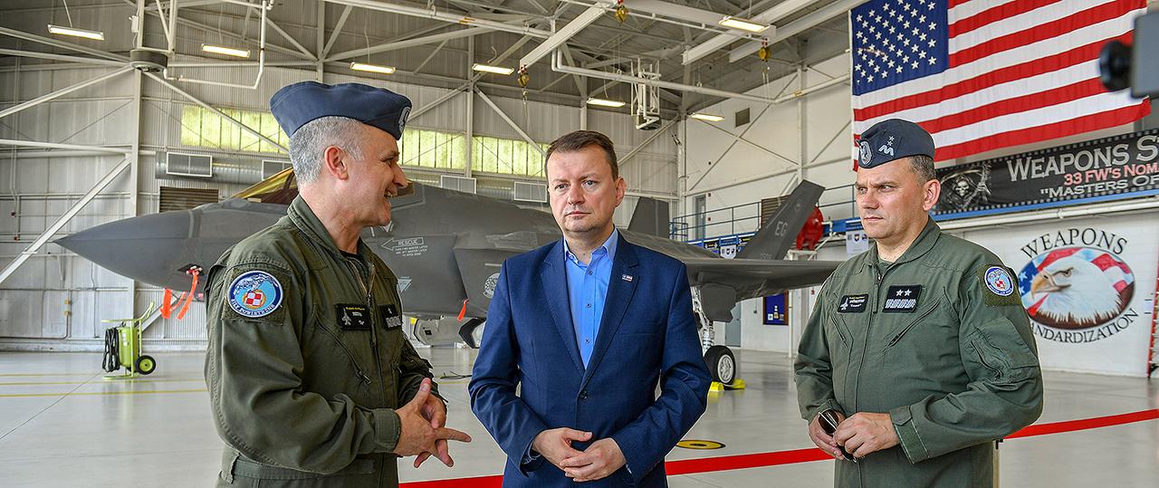 """USA: Błaszczak o F-35. """"Zrobię wszystko, by wynegocjować korzystną cenę"""""""